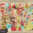 Christmas In July- Christmas Blessings Elements Kit