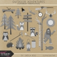Outdoor Adventures Layered Templates Kit