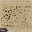 Spookalicious Florals And Flourishes Templates Kit