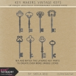 Key Makers Vintage Keys Kit