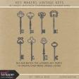 Key Makers Vintage Keys Kit