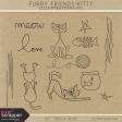 Furry Friends- Kitty Illustrations 02 Kit