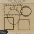 Furry Friends- Kitty Doodle Frames Kit