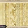 Gold Leaf Foil Papers Kit