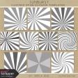 Sunburst Layered Overlay/Paper Templates Kit