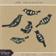 Jane Bird Silhouettes Kit