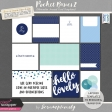 Pocket Basics 2 Minimalist Journal Card Templates