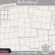 Pocket Basics 2 Tidy Pocket Page Stitches - Black