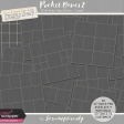 Pocket Basics 2 Tidy Pocket Page Stitches - Cream