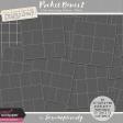 Pocket Basics 2 Tidy Pocket Page Stitches - White
