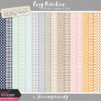 Cozy Kitchen Gingham & Dots Papers Kit