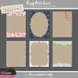 Cozy Kitchen Vine Kraft Journal Cards Kit