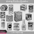 Vintage Kitchen Graphics Vol. 1 - Vintage Food Packaging