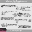 Vintage Kitchen Graphics Vol. 3 - Savory Headers