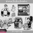 Vintage Kitchen Graphics Vol. 4 - Kitchen People