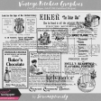 Vintage Kitchen Graphics Vol. 5 - Antique Ads & Old-Fashioned Recipes