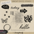 Bright Days Stamps Kit