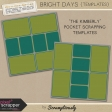 Bright Days Pocket Scrapping Templates Kit