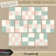 Already There Pocket Scrapping Templates Kit