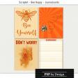 @Sas_Scrapkit_BeeHappy_Journalcards