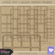 Picnic Day - Wood Veneer Frames
