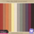 Fall in Love - Solid Papers