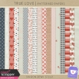 True Love - Patterned Papers
