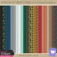 Season of Gratitude - Patterned Papers #2