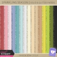 Sparkling Season - Solid & Glitter Papers