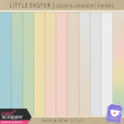 Little Easter - Solid & Gradient Papers