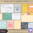Work Day - Journal Cards