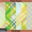Plaid Papers Kit