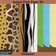 Animal Print Paper Kit