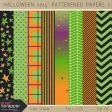 Halloween 2015: Patterned Papers 03