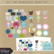 All the Princesses Print Kit