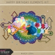 Happy Birthday Elements Kit