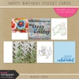 Happy Birthday Pocket Cards Kit