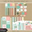 Life in Full Bloom Print Kit