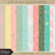 Life in Full Bloom Papers Kit