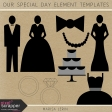 Our Special Day Element Template Kits