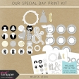 Our Special Day Print Kit