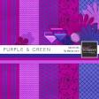 Purple & Green Mini Kit #3