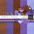 Purple & Green Mini Kit #4