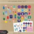 Ice Cream Print Kit