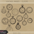 Vintage Images Kit - Clocks