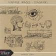 Vintage Images Kit - Diagrams
