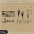 Vintage Images Kit - Boys
