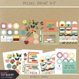 Picnic Day Print Kit