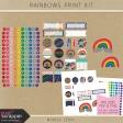 Rainbow Print Kit