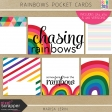 Rainbow Pocket Cards Kit